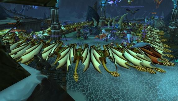 Игроки в WoW устраивают флешмобы из-за долгого возрождения монстров в препатче Shadowlands