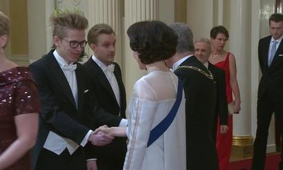 JerAx и Topson побывали на приеме у президента Финляндии