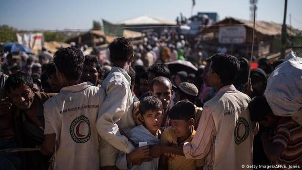 Лагерь беженцев в Мьянме | Фото: AFP / E. Jones