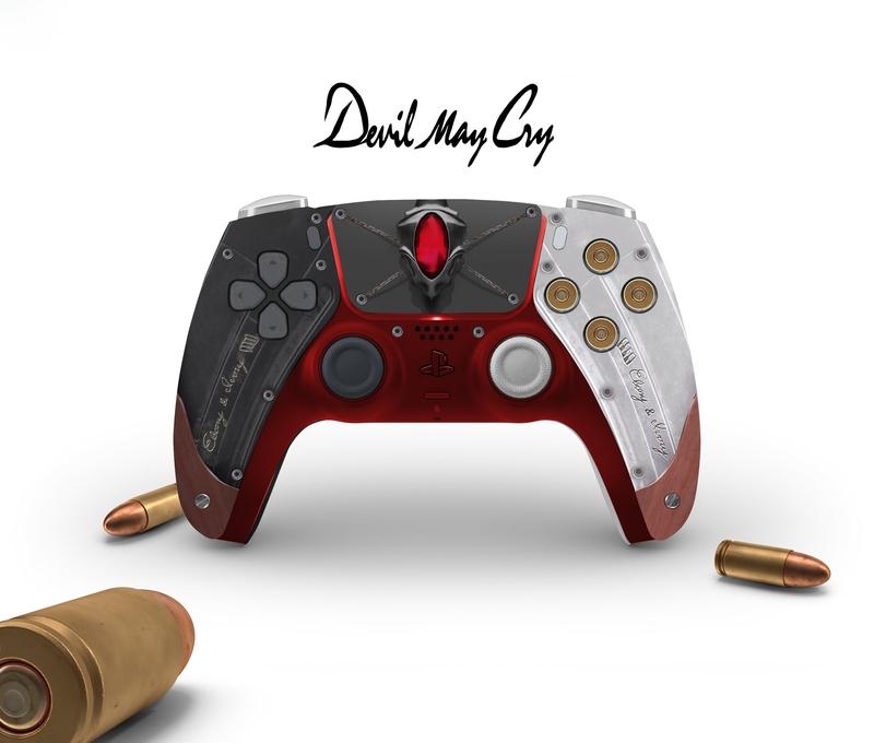 Макет DualSense от BossLogic   Фото: twitter.com/Bosslogic