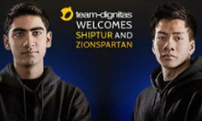 Shiphtur и ZionSpartan усилят Team Dignitas