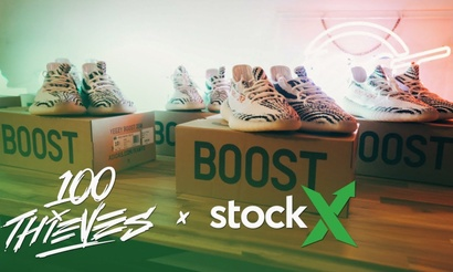 100 Thieves и торговая площадка StockX стали партнерами