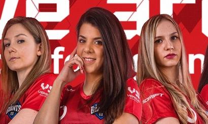 Vodafone Giants представили женский состав по CS:GO. В него вошла россиянка