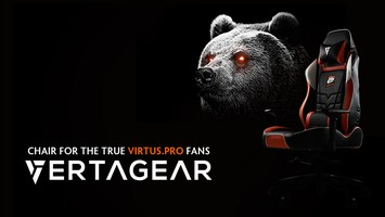 First gaming chair Virtus.pro from Vertagear in history!