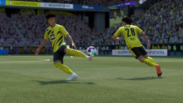 Джейдон Санчо в FIFA 21