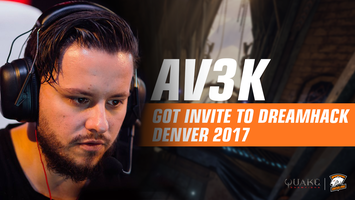 Av3k got invite to DreamHack Denver 2017