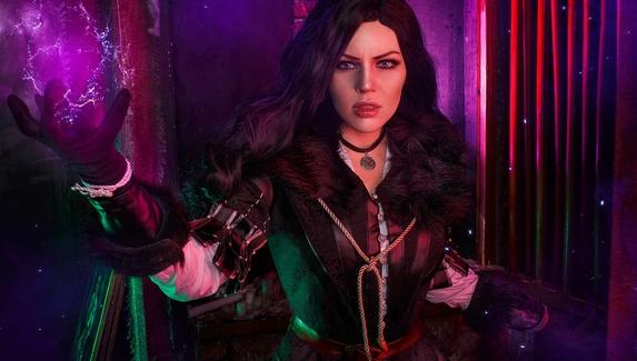 Магия Йеннифэр в действии — косплей на персонажа The Witcher 3