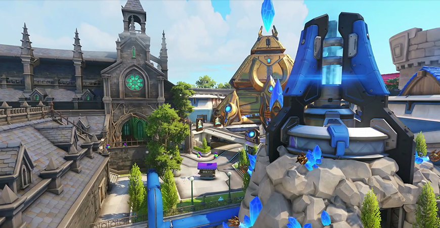 Overwatch S Game Director Hopes That New Map Blizzard World Launches
