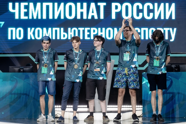 Команда Республики Марий Эл. Источник: Федерация компьютерного спорта России