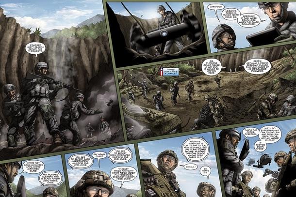 По играм American`s Army выходили комиксы