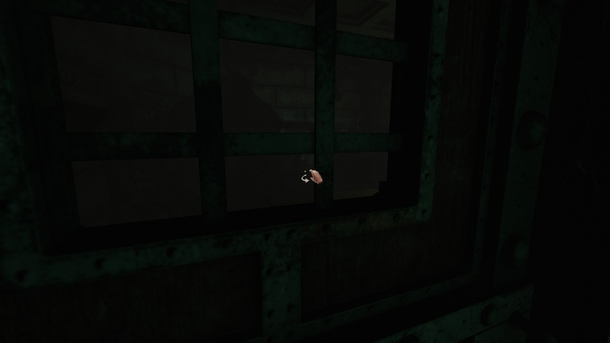 На стене впереди — тень плотоядного гуля, которая как бы намекает: сюда соваться не стоит