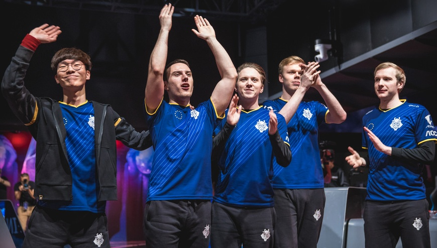 Wunder propels G2 Esports past Infinity eSports in Worlds 2018 play-in