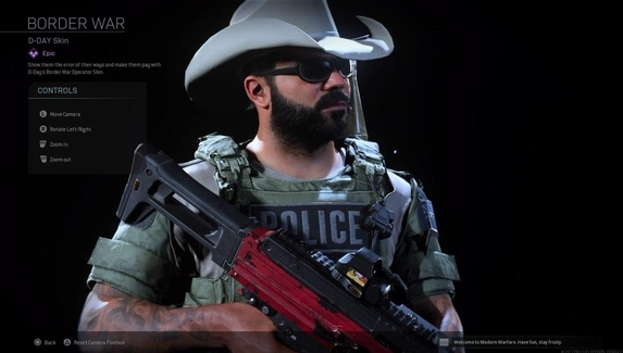 В Call of Duty изменили название скина из-за обвинений в ненависти к иммигрантам и «восхвалении полиции»