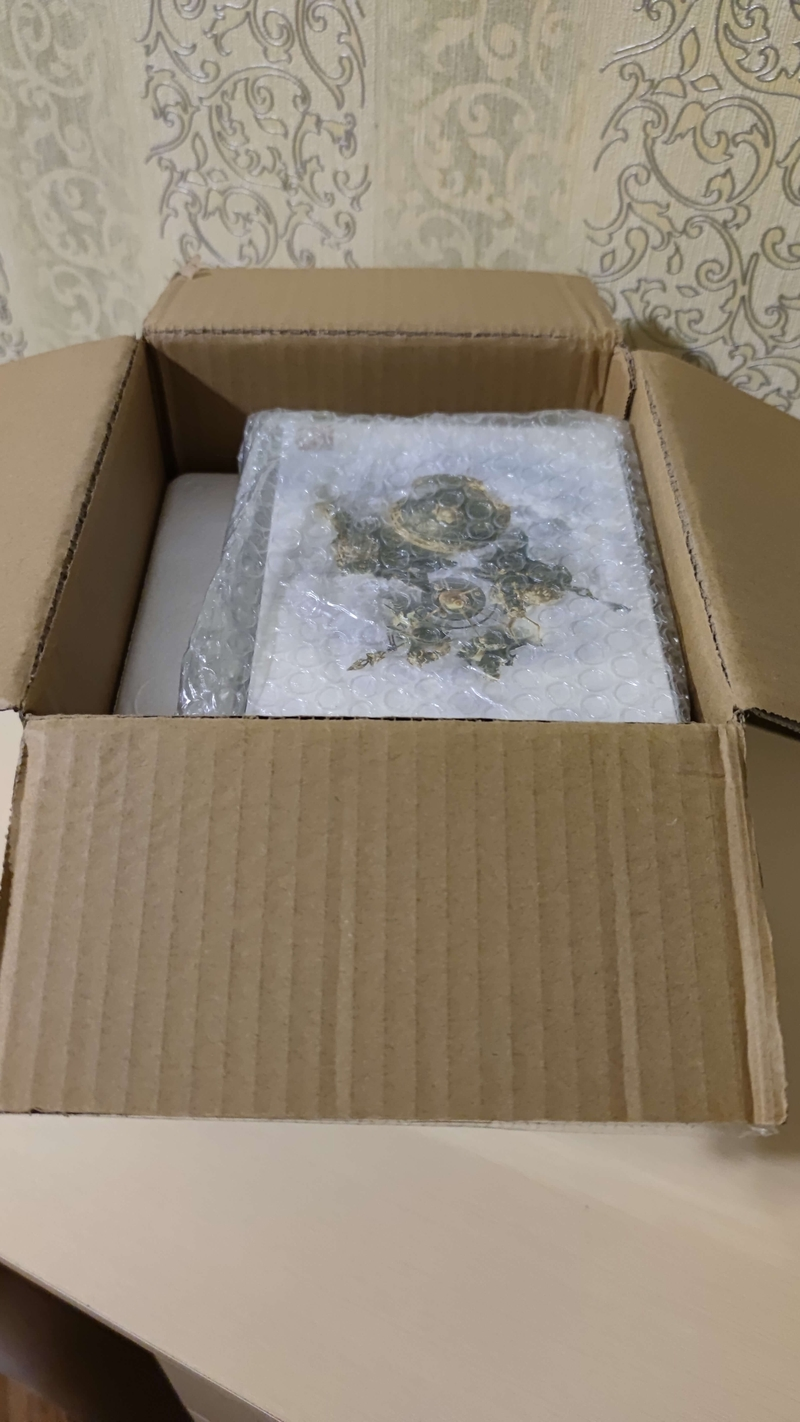 Распаковка коробки