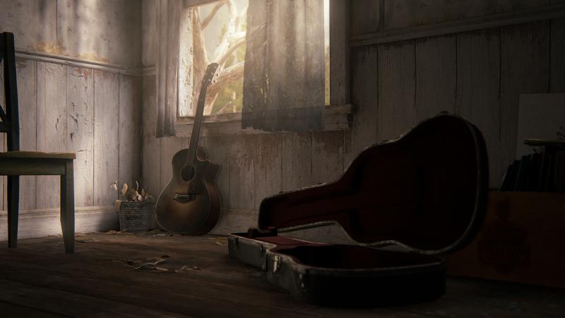 Окружение в The Last of Us Part II