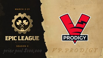 VP.Prodigy will play in EPIC League Season 3