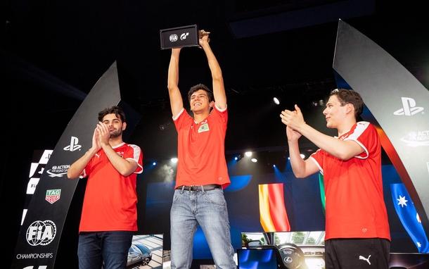 Чемпион FIA GT Championship Nations Cup Игор Фрага