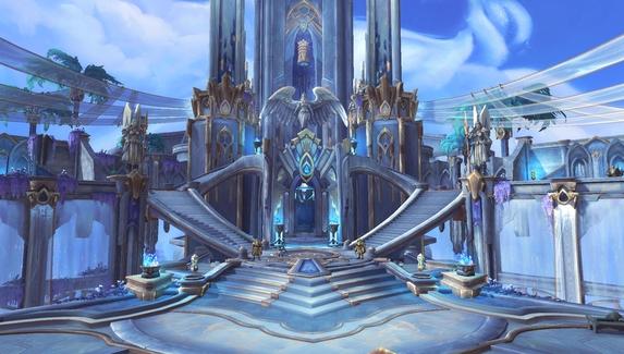 Фанат Minecraft построил в игре одну из красивейших локаций World of Warcraft: Shadowlands