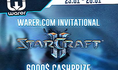 Warer.com invitational - турнир по SC2 от ToD