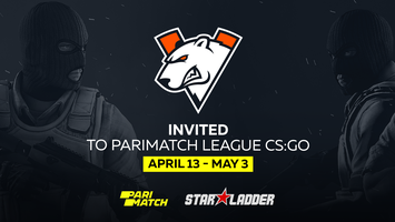 Virtus.pro сыграет на Parimatch League CS:GO
