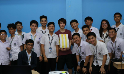 MP встретился с учениками филиппинской школы