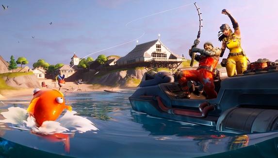 Порыбачим и поплаваем: что интересного в новом сезоне Fortnite
