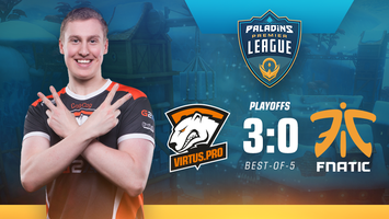 Virtus.pro Paladins roster confidently defeated mousesports and Fnatic