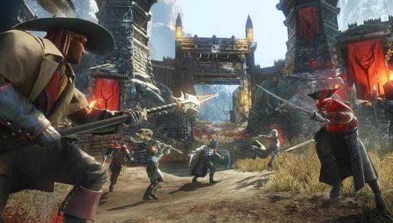 Закрытая бета MMO New World вошла в топ-3 самых популярных игр Steam