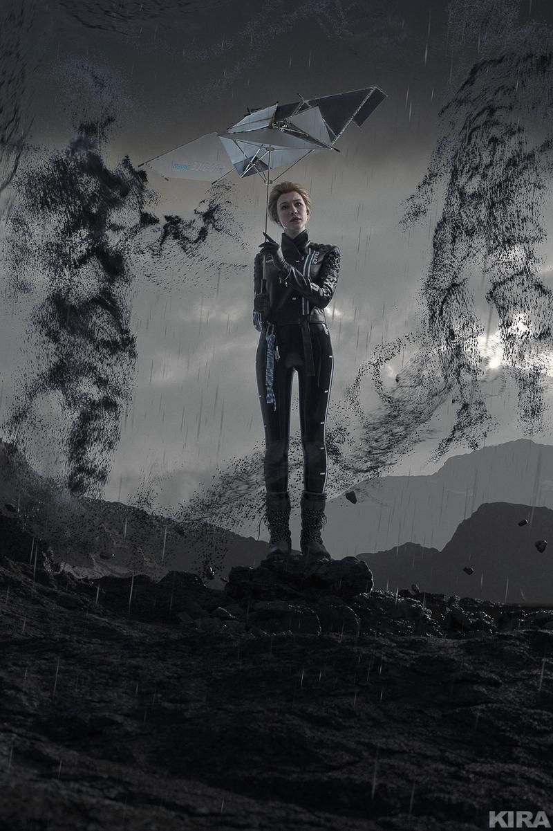 Ольга Хаку в образе Фрэджайл из Death Stranding | Источник: https://vk.com/feed?w=wall-74823029_6181