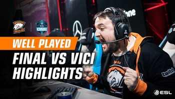 Victory in ESL One Katowice! Highlights final vs Vici Gaming.
