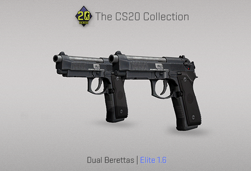 Скин на Dual Berettas | Источник: blog.counter-strike.net