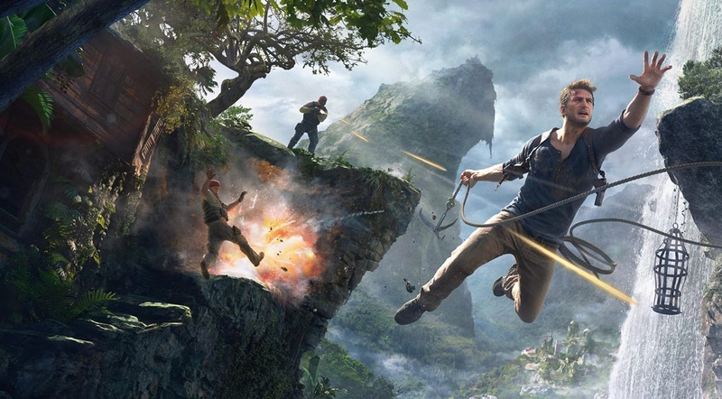 Кадр из игры Uncharted 4: A Thief's End