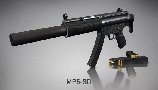 New MP5-SD submachine gun introduced in Aug. 15 patch