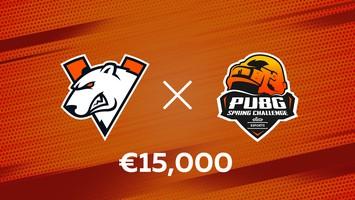 Virtus.pro will play in PSL Elisa Esports PUBG Spring Challenge