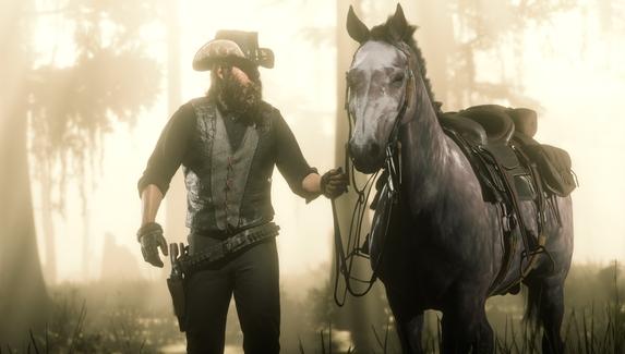 Новое дополнение для Red Dead Online «сломало» поведение лошадей