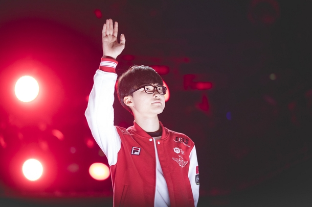 Lee Faker Sang Hyuk has been streaming exclusively on Azubu for three years.Source: Riot Games