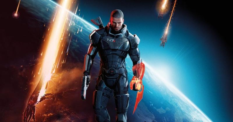 Промокадр Mass Effect 3