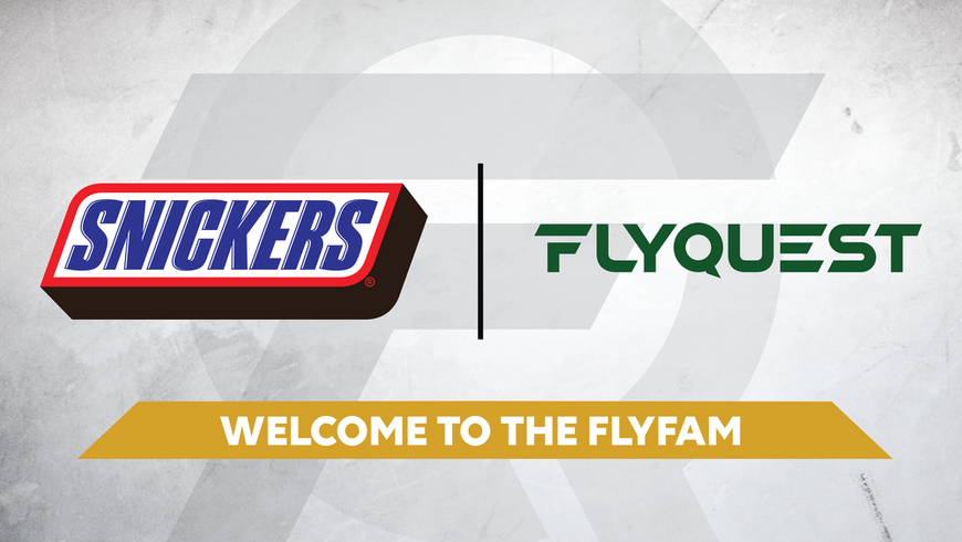 FlyQuest combats diva syndrome by grabbing Snickers deal
