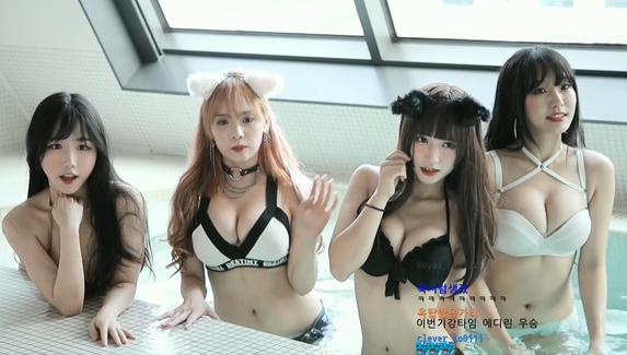 Корейских стримерш забанили на Twitch из-за трансляции в нижнем белье