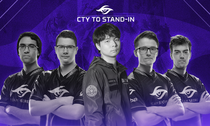 Cty заменил MidOne в Team Secret на Perfect World Masters