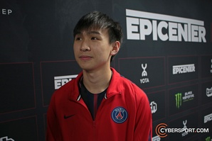 "xNova EPICENTER post-finals interview: ""Most of the Chinese teams need time to improve."""