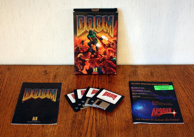 Первое издание Doom