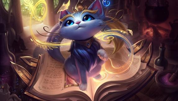 Волшебная кошка Юми — новый чемпион в League of Legends