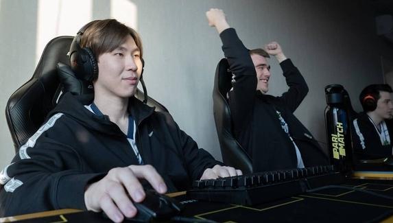 Кулачки от Miposhka и танец Yatoro — эмоции игроков Team Spirit после победы над Alliance