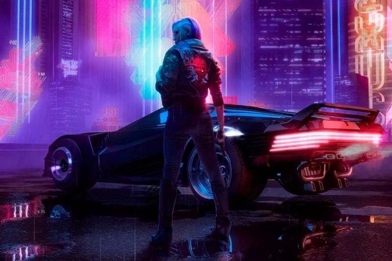 Промокадр Cyberpunk 2077