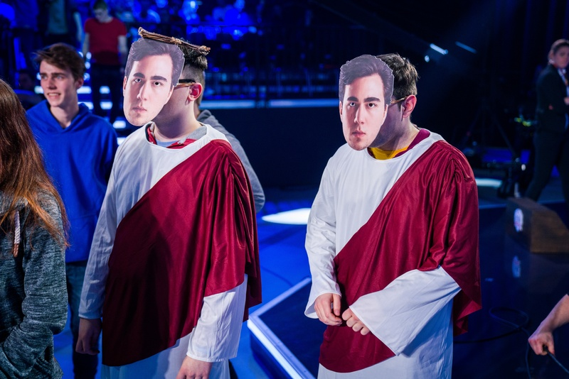 Gilius's trash talk and bold plays have earned him his own cult following   Photo by LoL Esports