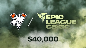 Virtus.pro will play in EPIC League CIS RMR