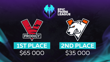 Virtus.pro and VP.Prodigy clash in the Epic Prime League Season 1 Final!