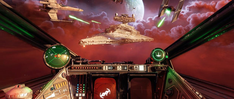 X-wing горит, Скайуокер плачет — обзор Star Wars: Squadrons