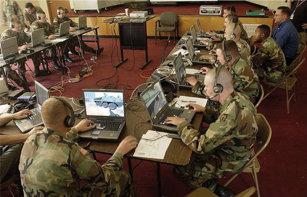 Тренировка военных в DARWARS Ambush